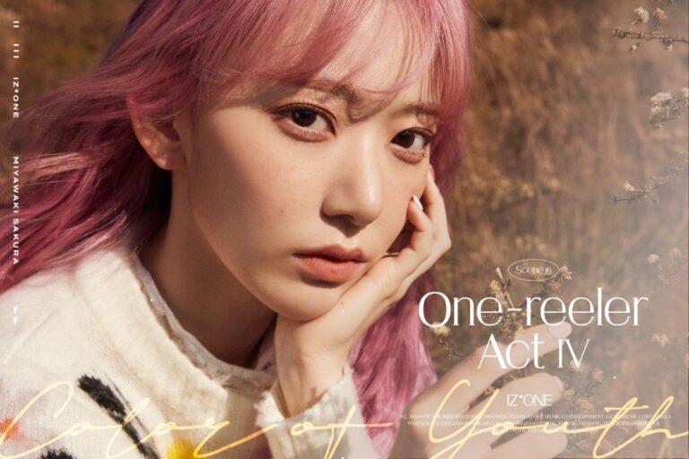 IZ*ONE tung ảnh teaser đậm chất điện ảnh cho mini album thứ 4 One-Reeler/Act IV