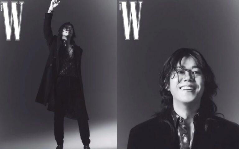 Chồng Lee Hyori - Lee Sang Soon bảnh bao trên tạp chí W Korea