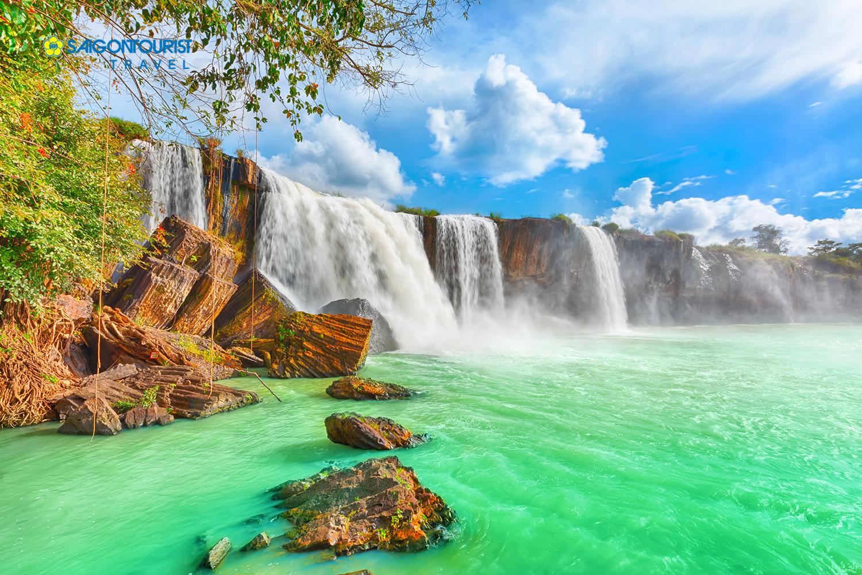 Ghé thăm thác nước Dray Nur hùng vĩ tại Đắc Lắk