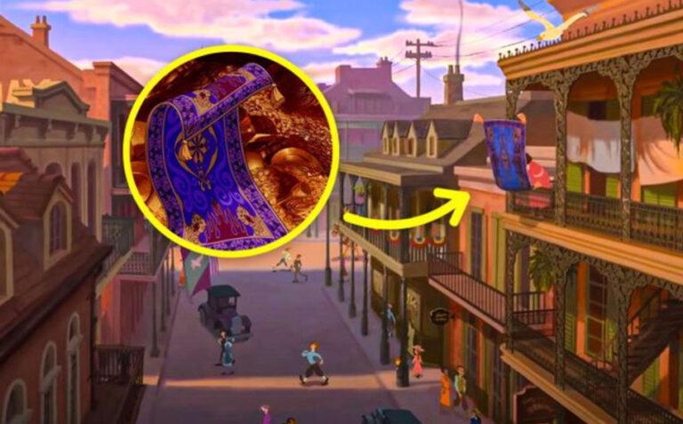 Sự thật thú vị đằng sau những chi tiết nhỏ trong hoạt hình Disney