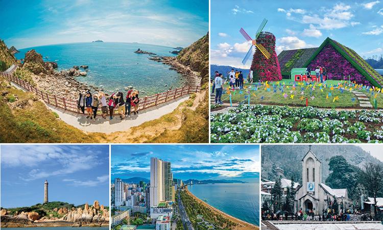 Những điểm đến đón năm mới của du khách Việt
