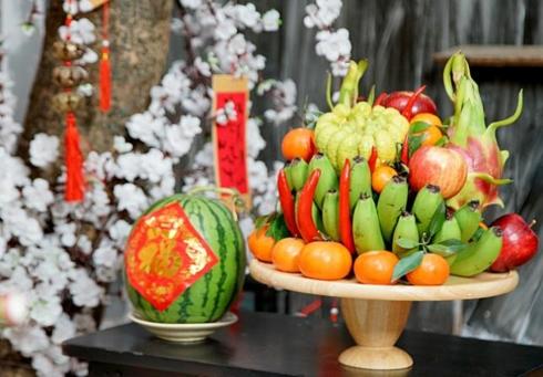 Mâm ngũ quả ngày Tết gồm những loại trái cây nào?