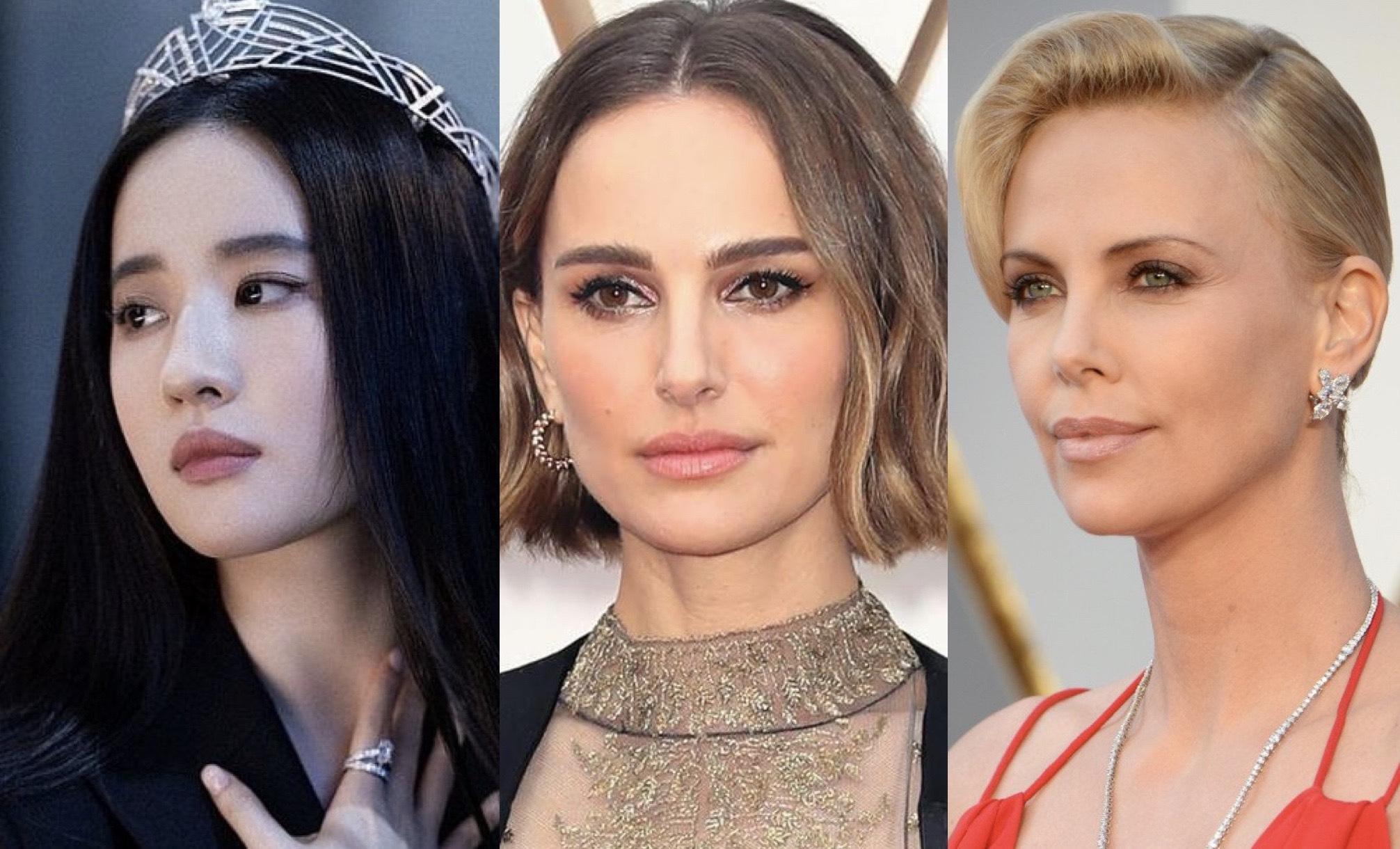 Lưu Diệc Phi đứng cạnh minh tinh tầm cỡ Natalie Portman, Charlize Theron trong hạng mục Nữ Diễn Viên Chính Xuất Sắc tại Giải Sao Thổ của Viện Hàn Lâm Mỹ