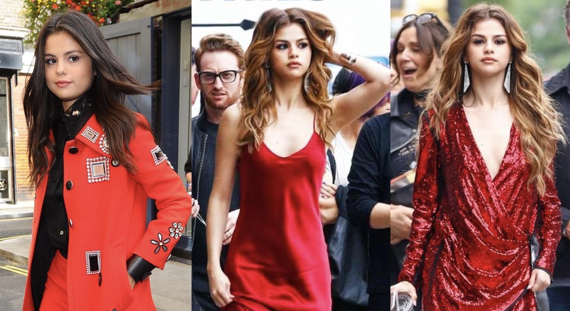 5 bộ cánh sắc đỏ từ Selena Gomez giúp bạn gái tỏa sáng mỗi dịp đặc biệt