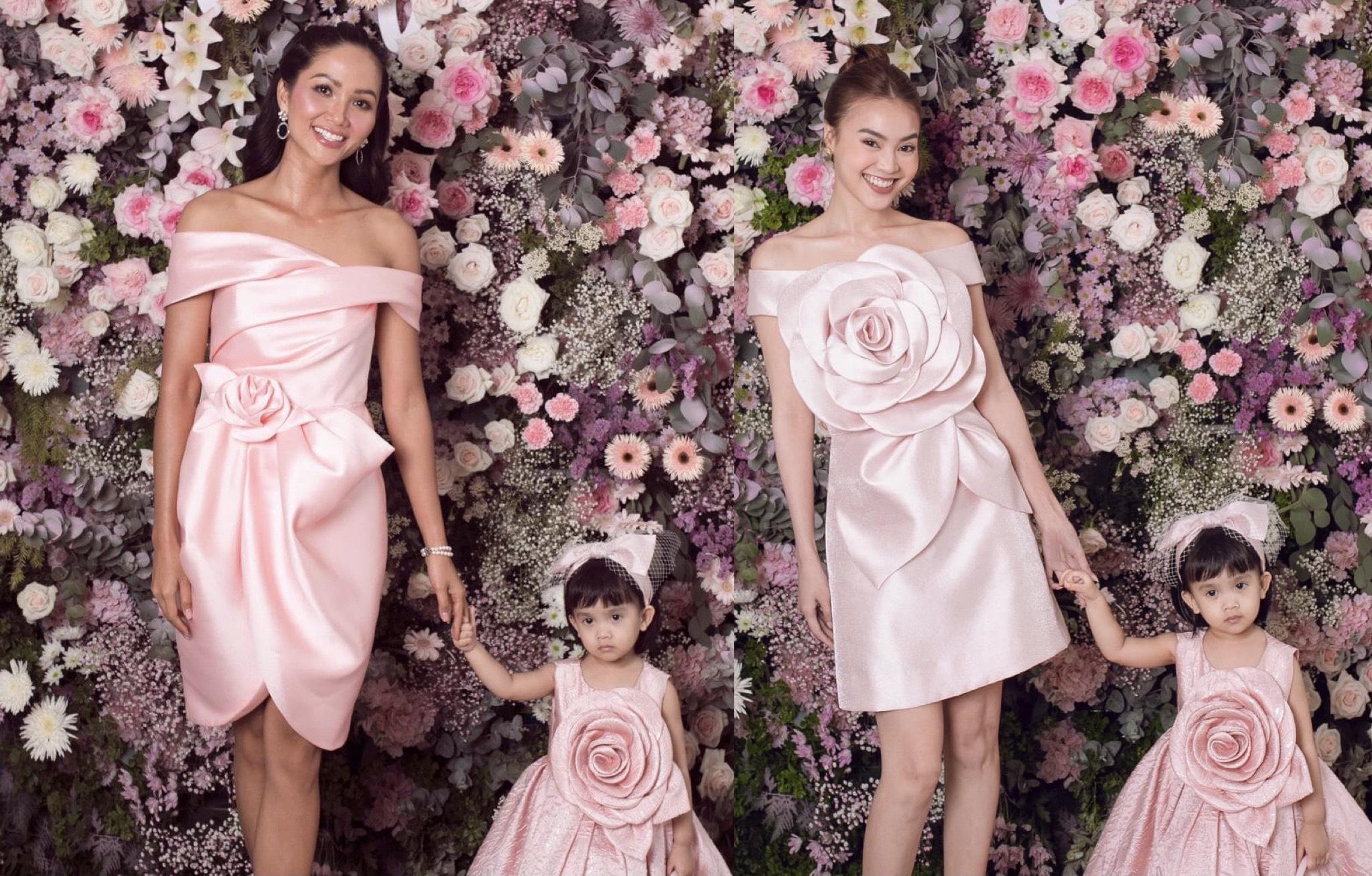 Học cách chọn trang phục sắc hồng từ dàn người đẹp V-biz trong sự kiện do NTK Đỗ Mạnh Cường tổ chức