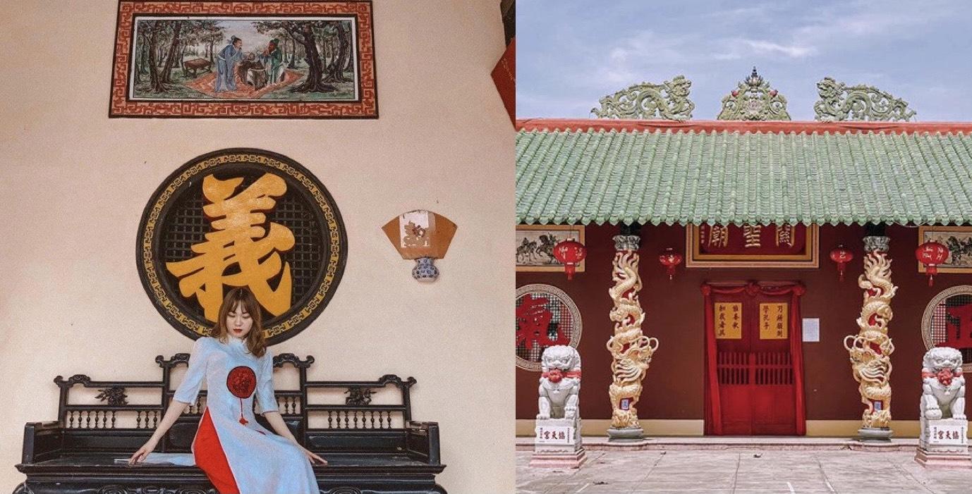 Check-in ngay bối cảnh tựa phim cổ trang tại Quỳnh Phủ Hội Quán - Nha Trang