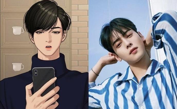 10 ngôi sao Hàn Quốc sở hữu ngoại hình giống hệt truyện tranh