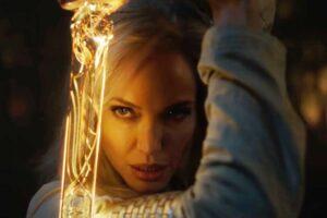 Xuất hiện chỉ vài giây, Angelina Jolie bùng nổ nhan sắc nữ chiến binh trong bom tấn Eternals