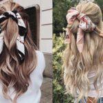 Hướng dẫn cách tết tóc với khăn lụa siêu xinh cho bạn gái mùa này