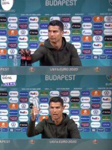 Cristiano Ronaldo khiến Coca Cola bốc hơi 92.712 tỷ VNĐ khi khuyên mọi người uống nước lọc?