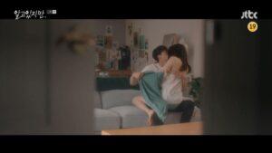 Bỏng mắt với phản ứng hóa học gắn mác 19+ của Song Kang và Han So Hee trong Nevertheless