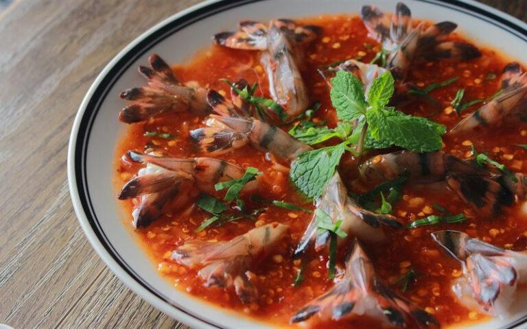Tôm sốt sống Thái chua cay: bỏ túi ngay cách chế biến đơn giản lại siêu nhanh tại nhà