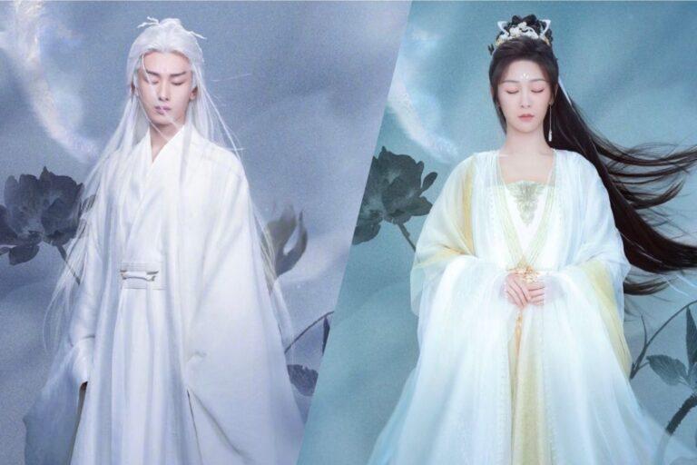 Thành Nghị hóa Đế quân tóc trắng yêu si mê Dương Tử trong Trầm Vụn Hương Phai