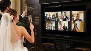 Đám cưới onilne