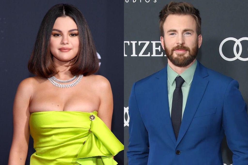 HOT: Loạt bằng hẹn hò của Captain America - Chris Evan và Selena Gomez